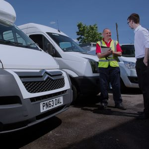 fleet management van hire