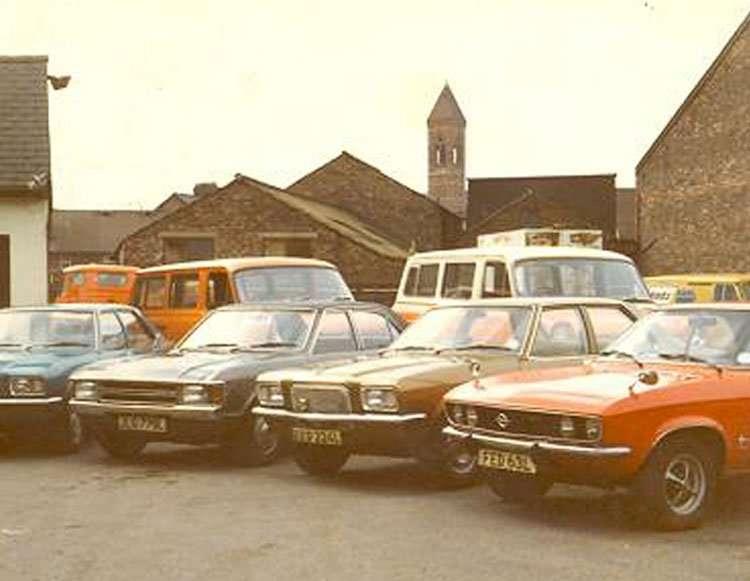 central self drive 1965