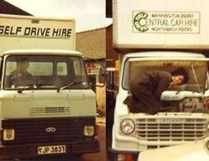 central self drive 1976