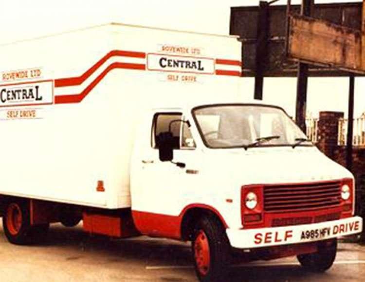 central self drive 1969