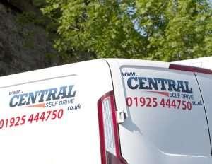 Central Self Drive Van