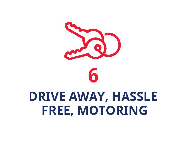Drive away, hassle free motoring