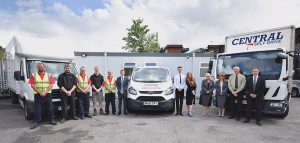 central self drive van hire warrington
