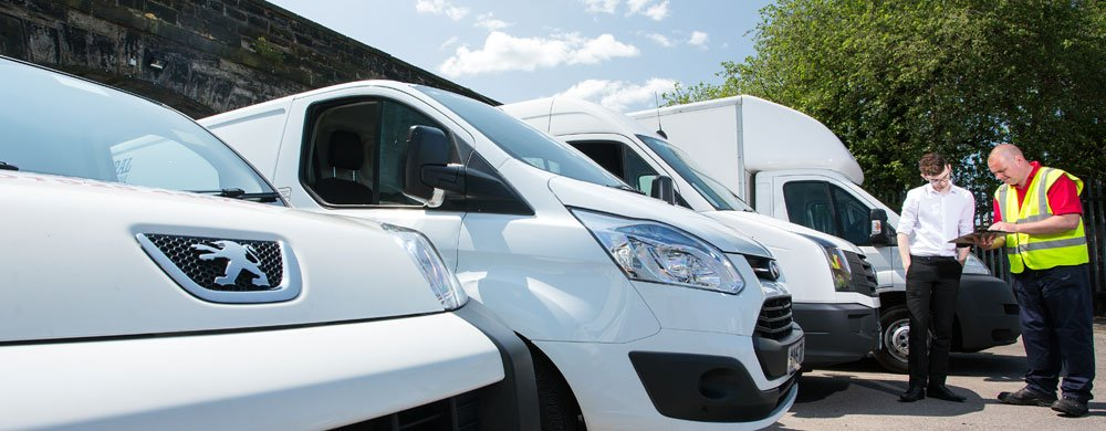 Business van hire warrington