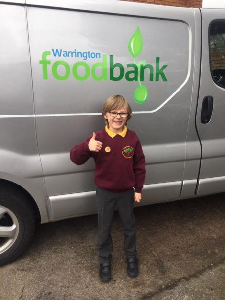 Warrington Food Banks New Hire Van