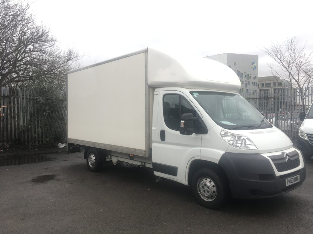 Citroen Relay Luton Box Van with Tail Lift