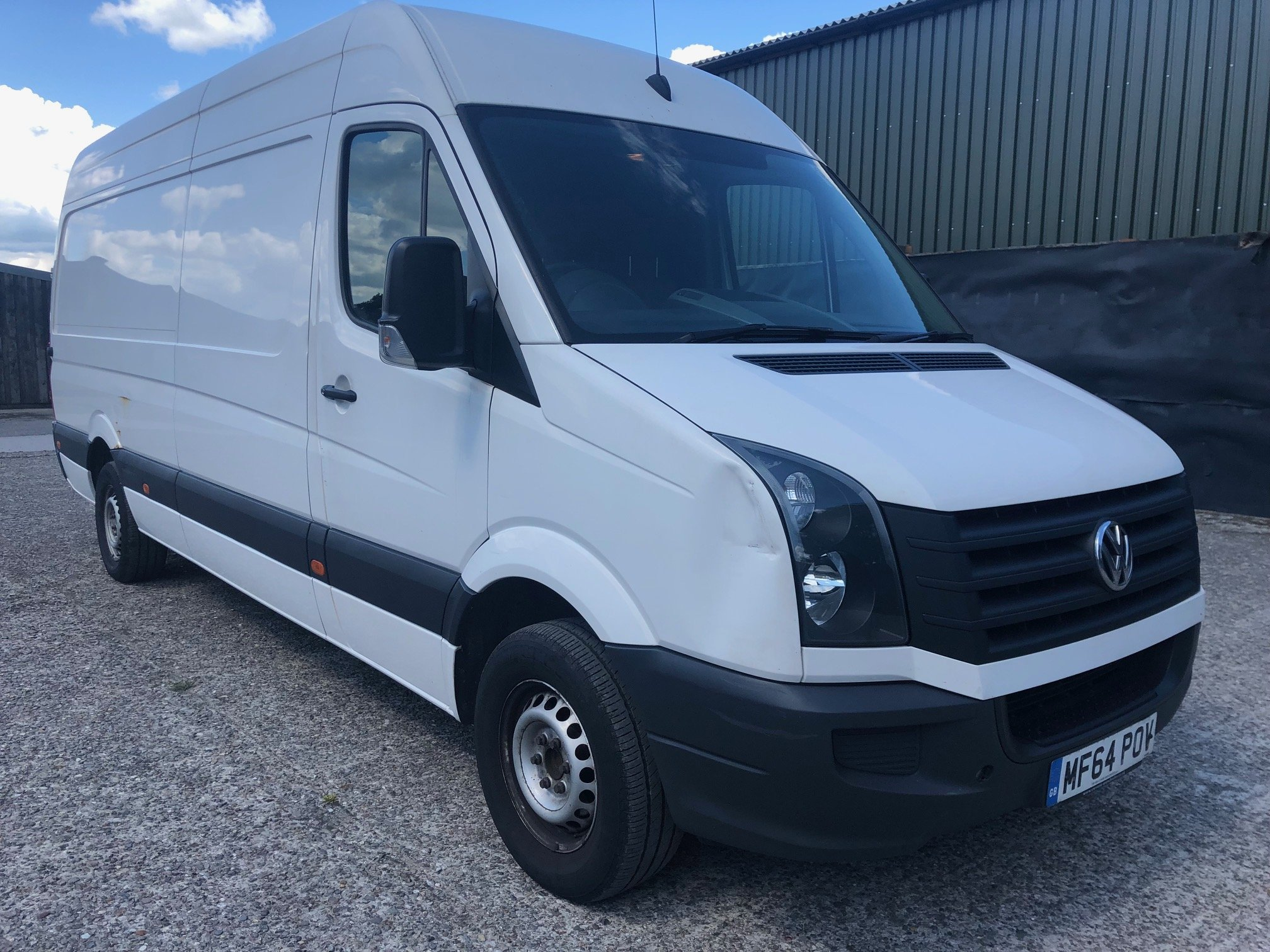 Volkswagen Crafter Extra Long Wheel Base