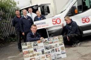 celebrating 50 years of Central Self Drive