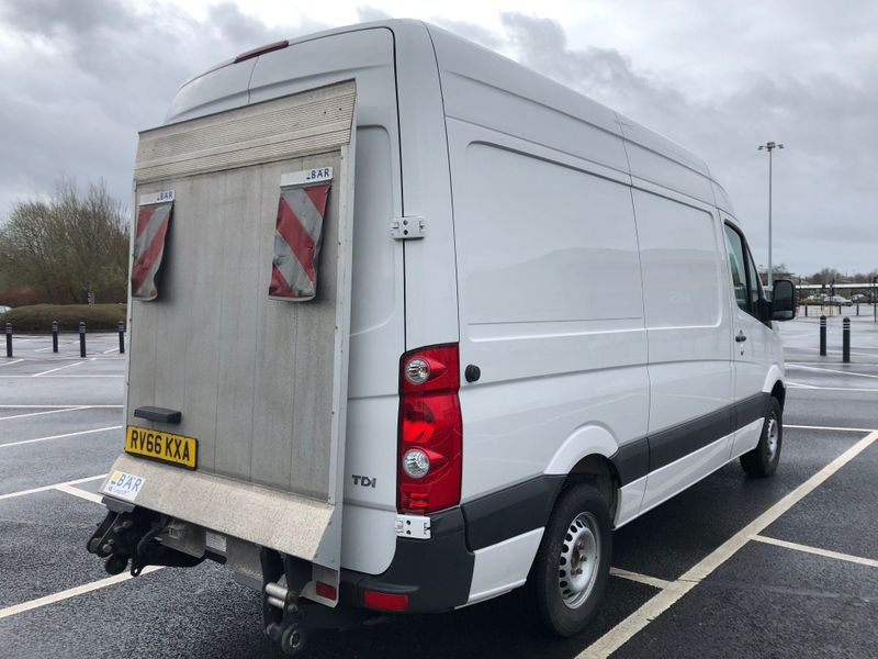 Volkswagen Crafter with Tail Lift