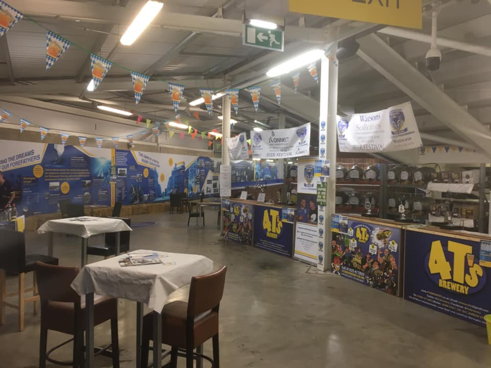 Warrington Wolves Beer Festival – Gin Sponsor
