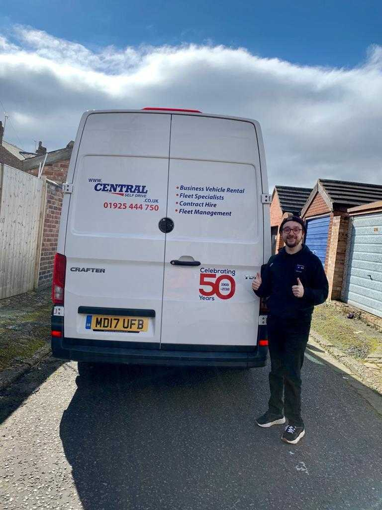 Moving House? Central Self Drive have the van for you!
