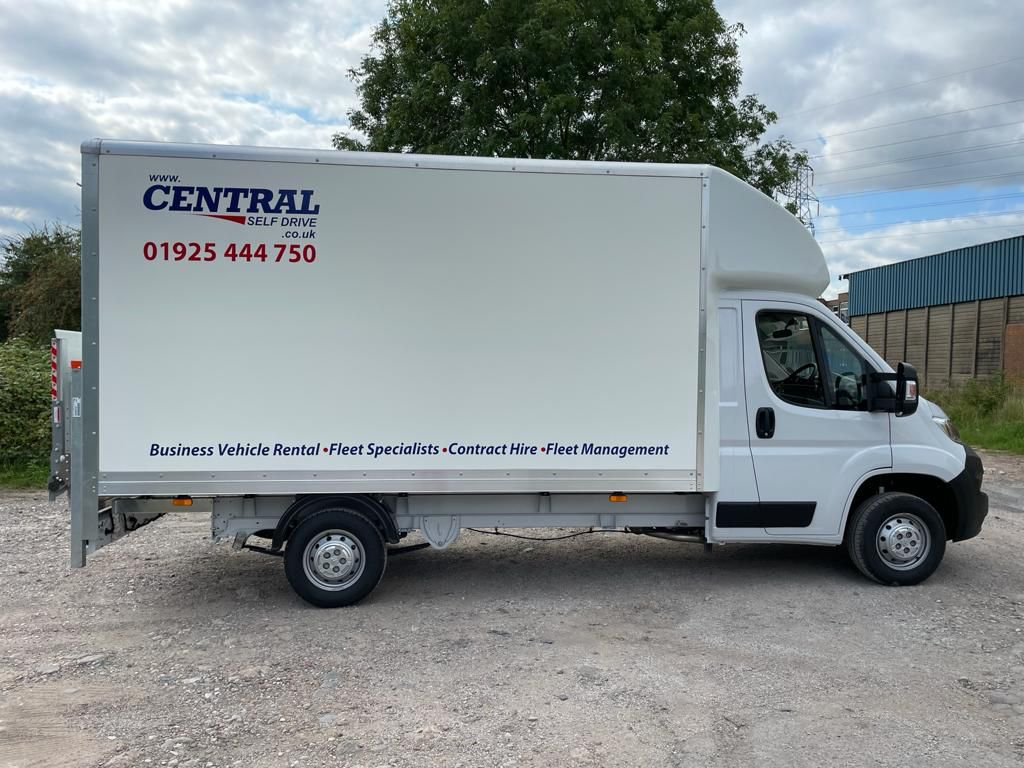 Warrington Van Hire with Central Self Drive